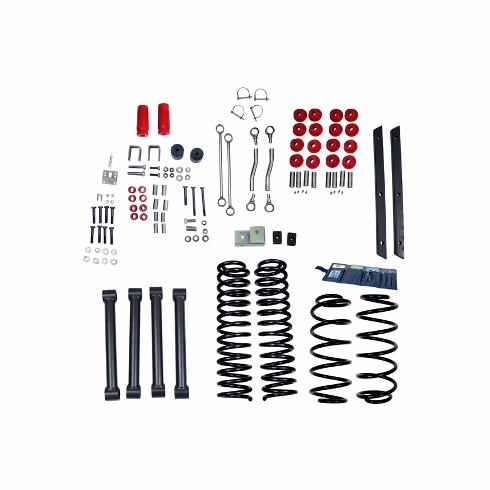 ( 1840141 ) 4-Inch Lift Kit without Shocks, 03-06 Jeep Wrangler TJ by ORV Rugged Ridge