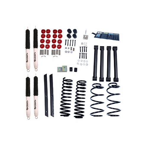 ( 1841532 ) 2-Inch Lift Kit with Shocks, 04-06 Jeep Wrangler Unlimited LJ by ORV Rugged Ridge