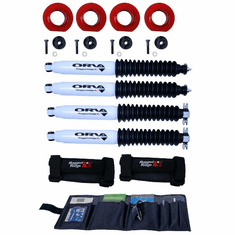 ( 1841533 ) 2 Inch Coil Spacer Kit with Shocks, 97-06 Jeep Wrangler TJ by ORV Rugged Ridge