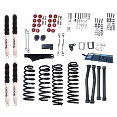 ( 1841560 ) 4-Inch Lift Kit with Shocks, 07-18 Jeep Wrangler JK by ORV Rugged Ridge