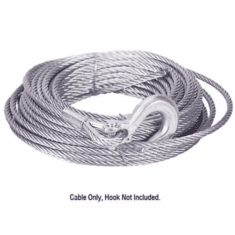 """( 19-50020C ) Winch Cable, 3/8"""" x 100' Replacement Winch Cable by Mile Marker"""