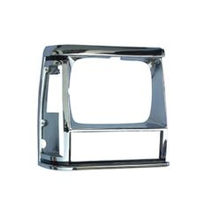 1984-90 XJ HEADLIGHT BEZEL, CHROME, RIGHT
