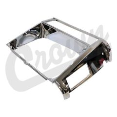 ( 55002244 ) Headlamp Bezel in Chrome for Passenger Side 1984-90 Jeep Cherokee XJ by Crown Automotive