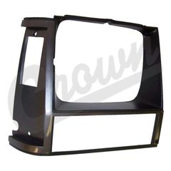 ( 55000682 ) Headlamp Bezel in Gray for Passenger Side 1984-90 Jeep Cherokee XJ by Crown Automotive