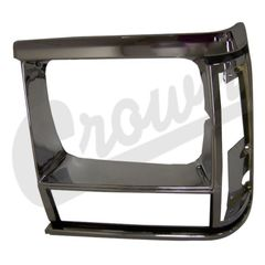 ( 55034079 ) Headlamp Bezel in Chrome for Driver Side 1991-96 Jeep Cherokee XJ by Crown Automotive