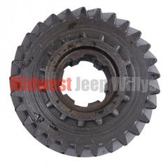 23) Mainshaft Gear, 29 x 15 Teeth, 6 spline, fits 1953-66 Jeep & Willys with Dana Spicer 18 Transfer Case