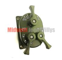 ( 51113-1 ) 24 Volt Light Control Switch for Military Vehicles, 3 Lever Type by Newstar
