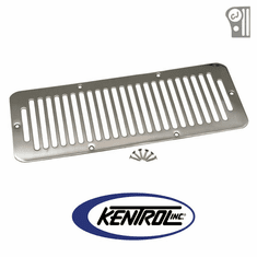 ( 30406 ) Polished Stainless Steel Hood Vent fits 1976-1986 Jeep CJ Models by Kentrol