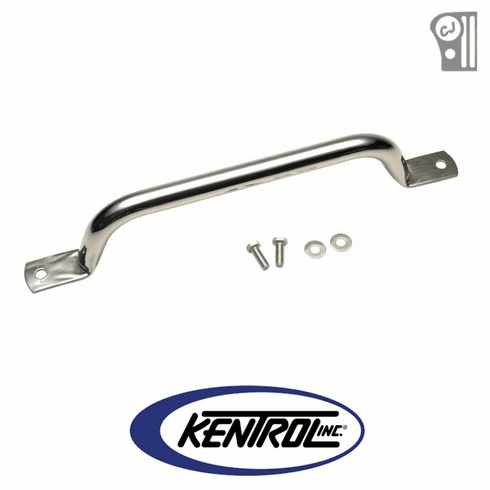 ( 30409 ) Polished Stainless Steel Grab Bar fits 1955-1986 Jeep CJ Models by Kentrol
