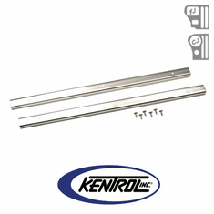 ( 30416 ) Polished Stainless Steel Entry Guard Set fits 1976-1995 Jeep CJ7 & YJ Wrangler by Kentrol