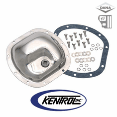 ( 304CM30 ) Differential Cover Model 30 Polished Stainless Steel fits 1987-1995 Jeep Wrangler YJ by Kentrol