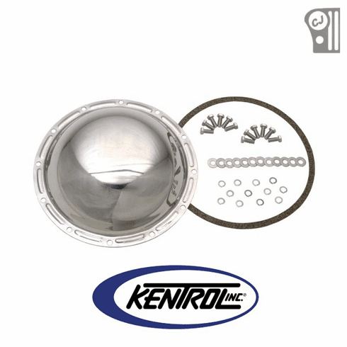 ( 304M20 ) Polished Stainless Steel Rear Differential Cover fits 1976-1986 Jeep CJ Models by Kentrol