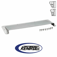 ( 30507 ) Polished Stainless Steel Hood Vent Air Scoop fits 1978-1995 Jeep CJ & YJ Wrangler by Kentrol