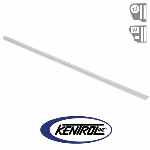 ( 30560 ) Inside Rear Body Protector Polished Stainless Steel fits 1987-2006 Jeep Wrangler YJ, TJ by Kentrol