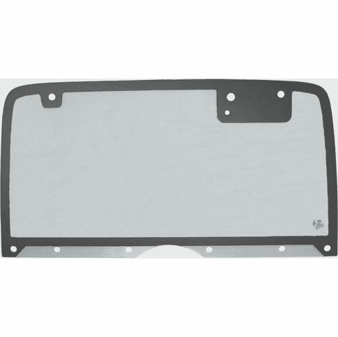 ( 3099009095G ) Jeep Wrangler YJ Hard Top Back Glass with 50% Gray Tint, (Heated), Fits 1987-95 Wrangler YJ by PPR Industries