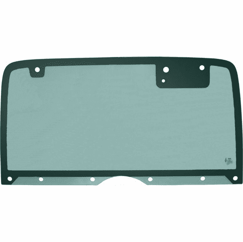 ( 3099019095 ) Jeep Wrangler YJ Hard Top Back Glass, (Non-Heated), Fits 1987-95 Wrangler YJ by PPR Industries