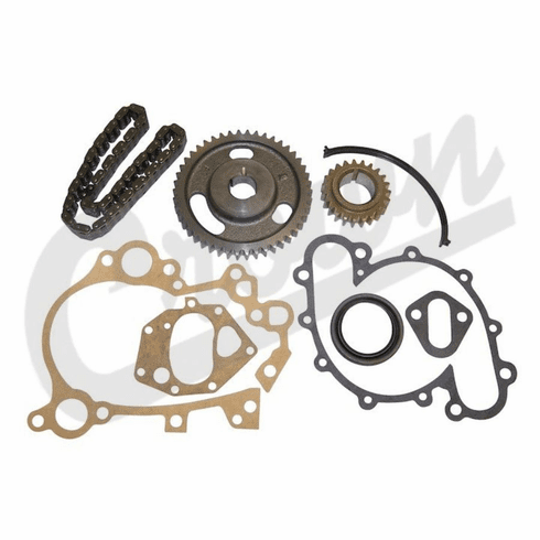 """( 3185270K ) Timing Kit for 1971-1986 Jeep Models with 5/8"""" Wide Sprockets, 5.0L 304, 5.9L 360 Engine by Crown Automotive"""