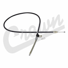 "( 3233904 )  Right Rear Emergency Brake Cable, Fits 1978-80 Jeep CJ With 10"" Brakes by Preferred Vendor"