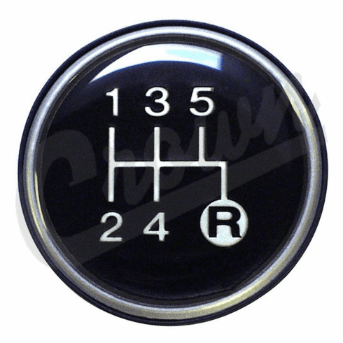 ( 3241073 )  5-Speed Transmission Shift Knob Insert For 1982-1986 Jeep CJ, Cherokee With T5 Transmission    by Preferred Vendor