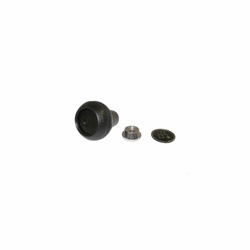 ( 3241073K ) Shift Knob Kit for 1982-86 Jeep CJ and 1982-86 Cherokee XJ, SJ & J-Series with T-5 Transmission by Crown Automotive