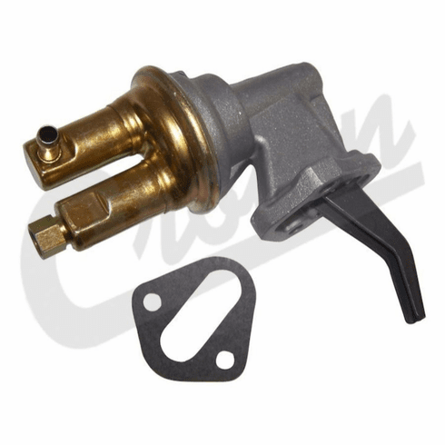 ( 33002652 ) Fuel Pump for Carbureted 1987-1990 Jeep Wrangler YJ, 1984-1996 Cherokee XJ with AMC 2.5L Engine by Crown Automotive