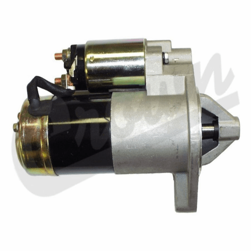 ( 33002709 ) Starter Motor for 1987-2001 Jeep Wrangler, Cherokee XJ, Grand Cherokee with 4.0L or 4.2L Engine by Crown Automotive