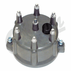 ( 33004024 ) Distributor Cap for 1991-93 Jeep Wrangler YJ, 1987-93 Cherokee XJ & 1993 Grand Cherokee ZJ with 4.0L 6 Cylinder Engine by Crown Automotive
