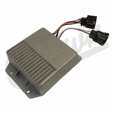 ( 33004065 ) Ignition Module for 1978-86 Jeep CJ, 1987 Wrangler YJ with 2.5L, 4.2L Engines, 1984-85 Cherokee XJ with 2.5L Engine by Crown Automotive
