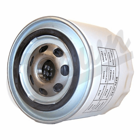 ( 33004195 ) Oil Filter for 1987-93 Jeep with 5.0L, 5.9L, 4.2L, 4.0L, 2.5L Engine by Crown Automotive