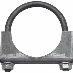 "( 35335 )  Jeep Exhaust Clamp, 2"" Heavy Duty, Jeep CJ, Wrangler & Cherokee by Preferred Vendor"