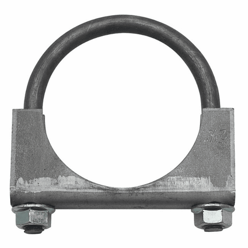 "( 35336 )  Jeep Exhaust Clamp, 2-1/4"" Heavy Duty, Jeep CJ, Wrangler & Cherokee by Preferred Vendor"