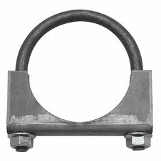 "( 35337 )  Jeep Exhaust Clamp, 2-1/2"" Heavy Duty, Jeep CJ, Wrangler & Cherokee by Preferred Vendor"