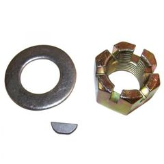 Nut & Washer Kit with Key, For 1976-86 CJ Series with AMC Model 20 Rear Axle