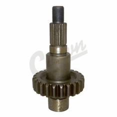 ( 4338934 ) Front Output Shaft, 1987-2002 Jeep Vehicles with NP231 Transfer Case (except Liberty KJ) by Crown Automotive