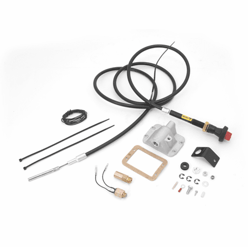 ( 450920 ) Differential Cable Lock Kit, For 3-In To 6-In Lift, , With Front D30 Axle, Jeep Wrangler (YJ) 1987-1995, Cherokee (XJ) 1984-1991 by Alloy USA