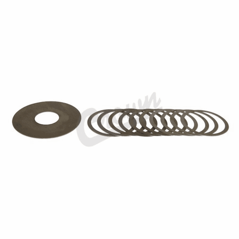 ( 4720862 ) Pinion Shim Set for 1997-02 Jeep Wrangler TJ & 1993-96 Grand Cherokee ZJ with Dana 30 Front Axle by Crown Automotive
