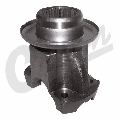 ( 4798138 ) Front Output Yoke for 1996-01 Jeep Cherokee XJ & Grand Cherokee ZJ with NP242 Transfer Case by Crown Automotive