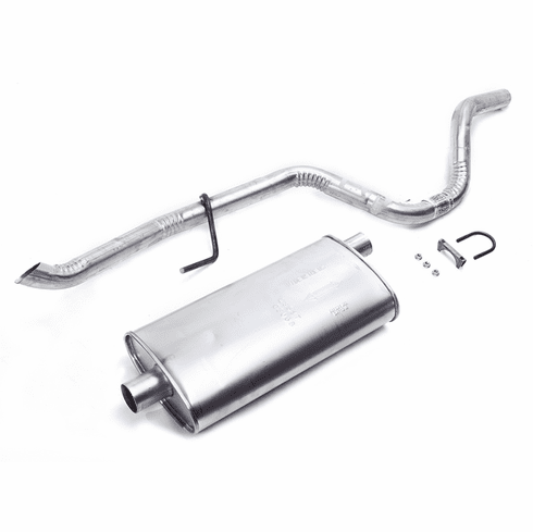 ( 4864279 )  Jeep Muffler With Tailpipe, 1993-95 6 Cyl 4.0L ZJ Grand-Cherokee by Preferred Vendor