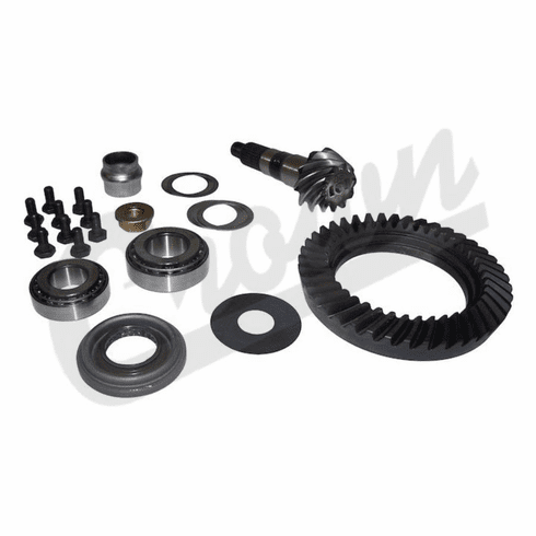 ( 4864913 ) Ring & Pinion Kit, 4.10 Ratio, 1997-2000 Wrangler w/ Model 30 Front Axle by Crown Automotive