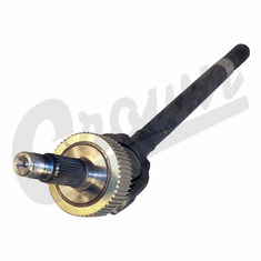 ( 4874307 ) Axle Shaft Assembly, Left Side Front, Dana 30 Axle with ABS, 1991-2006 Jeep Wrangler, 1992-2001 Cherokee, 1993-1998 Grand Cherokee by Crown Automotive
