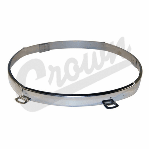 ( 4874378 ) Headlight Retaining Ring for 1997-06 Jeep Wrangler TJ by Crown Automotive