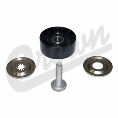 ( 4891797AA ) Upper Idler Pulley for 2007-18 Jeep Compass and Patriot with 2.0L or 2.4L Engine by Crown Automotive