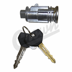 ( 5003843AAK ) Coded Ignition Cylinder, fits 1998-04 Jeep Wrangler TJ, 1999-04 Grand Cherokee WJ,  2002-04 Jeep Liberty KJ by Crown Automotive