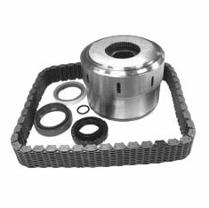 ( 5012329AA-K2 ) Progressive Coupling and Seal Kit for 1999-04 Jeep Grand Cherokee WJ w/ NV247 Transfer Case by Crown Automotive