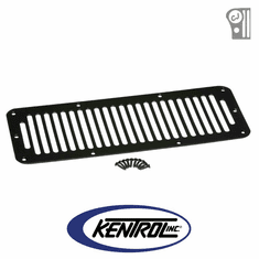 ( 50406 ) Black Powder Coated Stainless Hood Vent fits 1978-1986 Jeep CJ Models by Kentrol