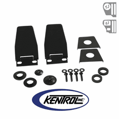 ( 50516 ) Hardtop Liftgate Hinge (pair) Black Powder Coated Stainless fits 1987-2006 Jeep Wrangler YJ, TJ by Kentrol