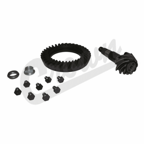 ( 5073266AB ) 4.11 Ratio Ring and Pinion Kit for 2000-06 Jeep Wrangler TJ and 2000-01 Cherokee XJ with Dana 35 Rear Axle by Crown Automotive