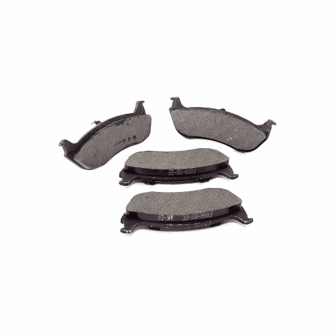 ( 5093511AB ) Rear Disc Brake Pad Set for 2003-06 Jeep Wrangler TJ & Unlimited by Crown Automotive