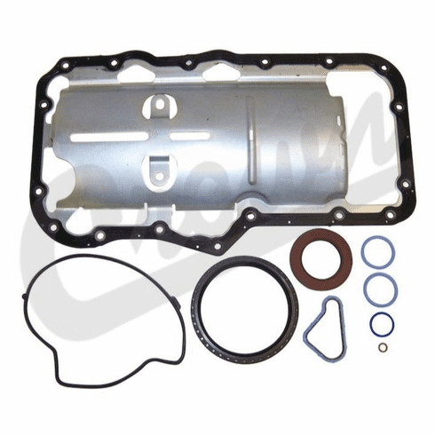 ( 5135793AA ) Lower Engine Gasket Set for 2002-12 Jeep Liberty KJ & KK, 2005-10 Grand Cherokee WK & 2006-10 Commander XK with 3.7L Engine by Crown Automotive