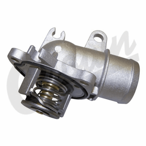 ( 5175583AB ) Thermostat with Housing for 2007-09 Jeep Grand Cherokee WK with 3.0L Diesel Engine by Crown Automotive